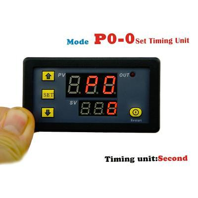 DC1500W 12V 0-999H Digital Display Delay Time Timing Relay Timer Cycling Module