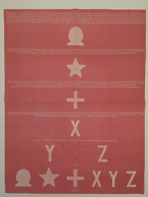 Affiche Martial Raysse Land 1971
