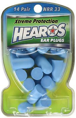 New Hearos Ear Plugs Xtreme Protection Series - 14 Pairs (Pack of 6)