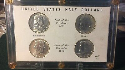 First And Last Year Of Silver Kennedy & Franklin Half Dollars