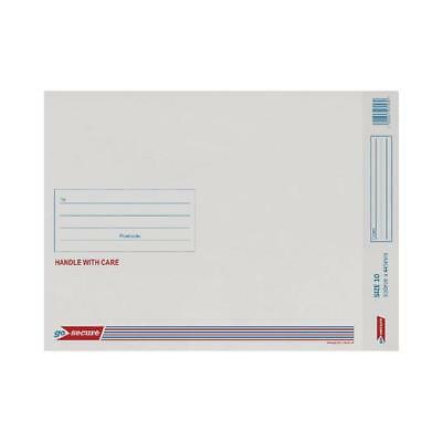 GoSecure Bubble Lined Envelope Size 10 350x470mm White (Pack of 20) PB02133