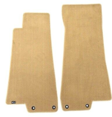 Jaguar XK8 Plush Custom Carpet Floor Mats Tan Fronts - Fits 1997-2002 Lloyd's