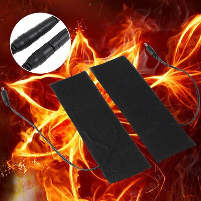 1 Pair 5V USB Electric Heating Element Carbon Film Heater Pads for Warming Feet