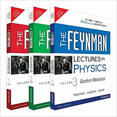 NEW: The Feynman Lectures on Physics - INT'L ed (Full 3 Volume Set)