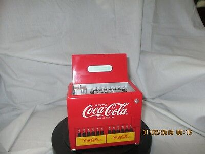 """Coca-Cola Collectible Musical Bank Ice Chest plays """"Things go Better with Coke"""""""