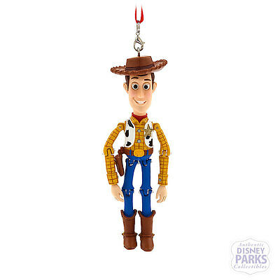 Disney Parks Exclusive Toy Story Woody Jointed Figurine Ornament Holiday