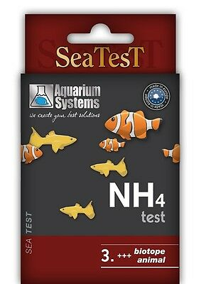 Aquarium Systems NH4 Test-SeaTest- 40 Tets Sonderpreis