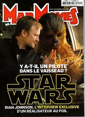 STAR WARS - Mad Movies #313 - Décembre 2017 - The Last Jedi  - 10 Pages - NEUF