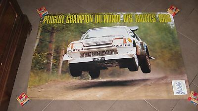 Affiche Poster 205 GTI TURBO 16