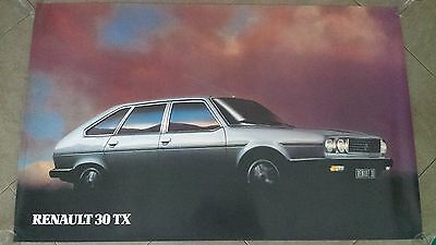 Poster, Affiche neuf RENAULT 30 TX