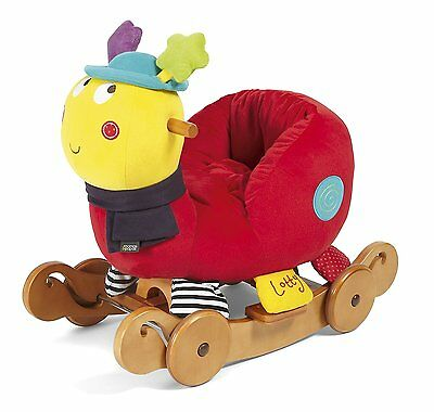 Mamas & Papas Lotty Ladybird Rock And Ride Musical Chair
