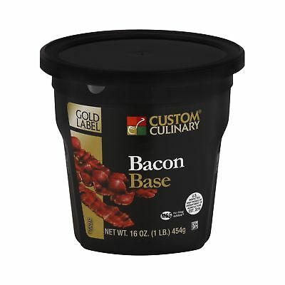 Custom Culinary Gold Label Base Bacon 1 Pound
