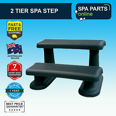 Spa Hot Tub 2 Step - Black