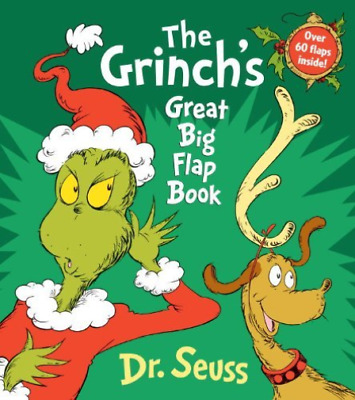 `Seuss, Dr.`-The Grinch`S Great Big Flap Book  (US IMPORT)  BOOK NEW