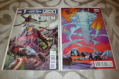 Uncanny X-Men #9-10 (2012) Marvel Comic Lot Of 2  VF+ To NM Condition