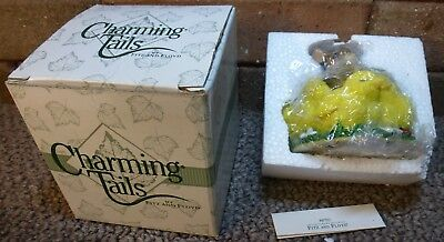 Charming Tails - Griff - Shhh, Don't Make a Peep - 88702 - Signed - Mint -88/702