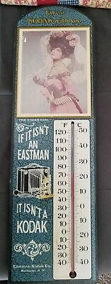 Eastman Kodak Thermometer With Picture of Kodak Girl 1975 Number 1371