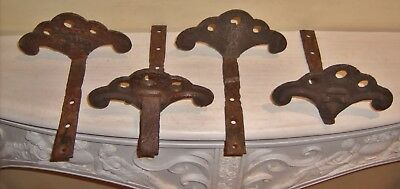 Antique Cast Iron ROOF Snow Birds F N Peter Newside PA Hardware Architectural