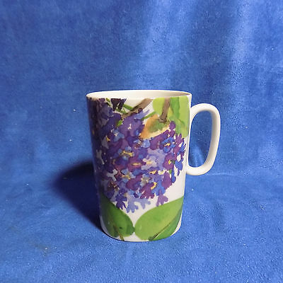 Block Lagenthal The Romance Of Flowers Purple Lilac Mug / Gary Bukovnik  Euc