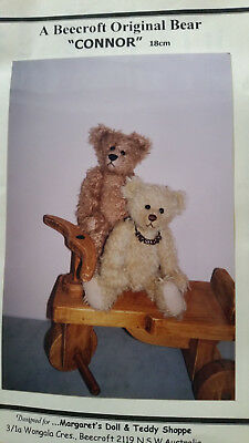 "Teddy Bear Making Kit ""Connor"" 18cm Brown"