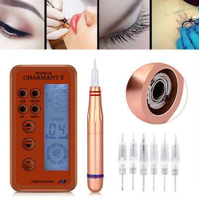 Permanent Eyebrow Makeup&Body Tattoo Rotary Pen Pretty Machine Eyeline Lip Kit