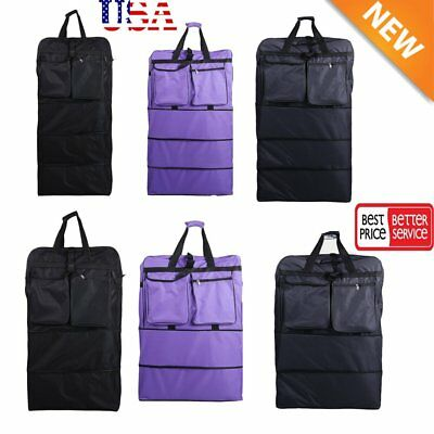 "36"" / 40"" Expandable Rolling Duffel Bag Wheeled Spinner Suitcase Luggage NEW BP"