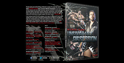 ROH Michael Elgin Unbreakable Obsession 2 Disc DVD tna wwe