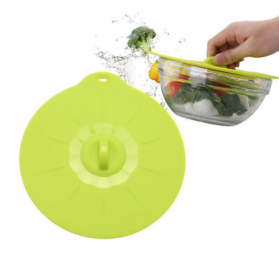 New Silicone Boil Over Spill Lid Pan Oven Safe Multi-functional Stopper Pot Lid