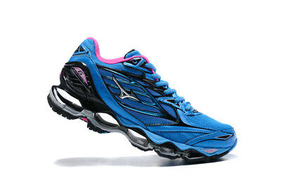 Hot 2017 New Mizuno Wave Prophecy 6 Running Hot Women's Shoes US6-10 Blue