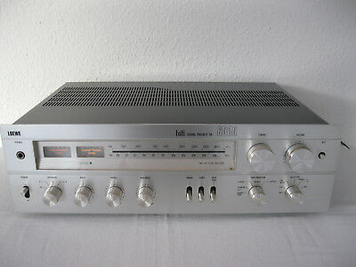 LOEWE RECEIVER hifi SOUND PROJECT TA 6000 Stereo Vintage HIGH FIDELITY