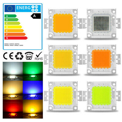 LED Chip High SMD Flut Power Perlen Licht für Birne 1-5pcs 10W20W30W50W70W100W