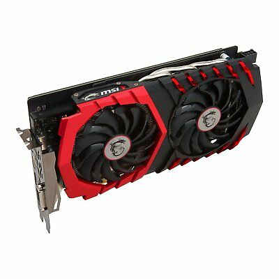 MSI GeForce GTX 1060 Gaming 6G, 6GB GDDR5, DVI, HDMI, 3x DisplayPort NVIDIA