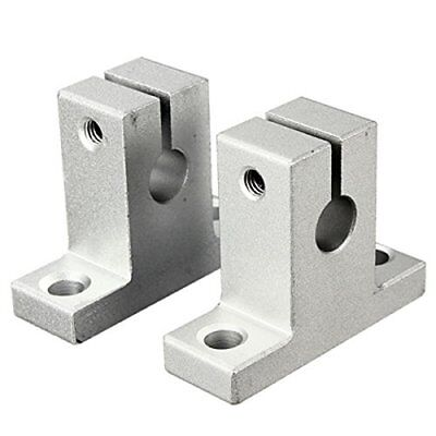 4x SK8 / SK10 Shaft Support Linear Rail Vertical Bearings Shaft Guide Bracket