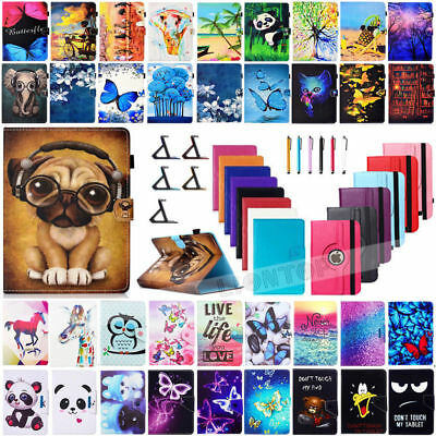 Universal Leather Stand Case Cover For Amazon Kindle Fire 7 / HD 8 / HD 10 2017