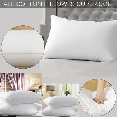 75*45CM Luxury Foam Cotton Pillow Core Orthopaedtc Extra Support Firm Bed Pillow