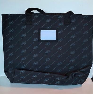 The PAMPERED CHEF Large Consultant Tote Bag Compartment Carrying Case Black