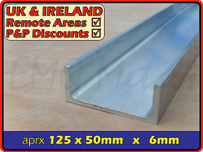"Aluminium Channel (C U section, gutter, profile,ramp,alloy) | 5"" x 2"""