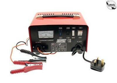 MAYPOLE Metal Battery Charger - 8A - 12V - 713