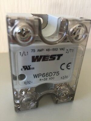 4x West Instruments Solid State Relay 75 amp - WP66D75