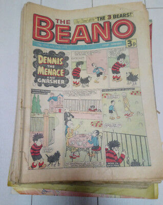 Beano Comics. Job Lot. 48 issues from 1975 - 1981