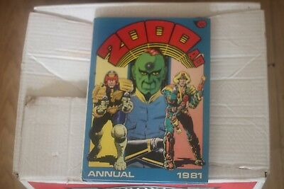 2000AD Annual 1981 Vintage excellent condition