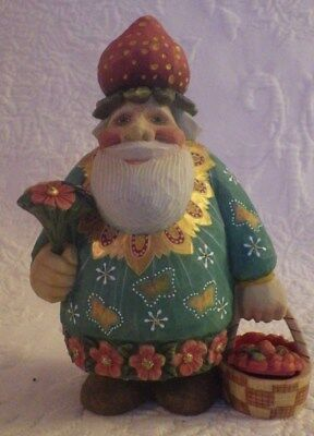 "G. Debrekht Santa of The Fields Village Series 0104/1200 LE Figurine 5.5"" New"