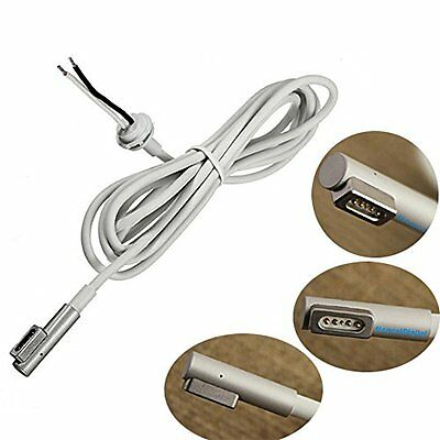 45W 60W 85W AC Power Adapter Repair DC Cord Cable L Tip For Macbook Magsafe1