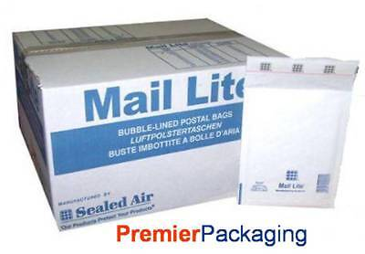 Mail Lite G/4 Padded Envelopes 240mm x 330mm available in White or Brown