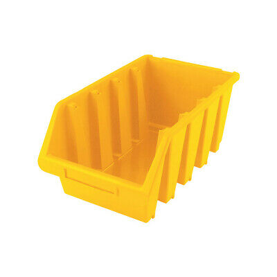 Matlock Mtl4 Hd Plastic Storage Bin Yellow