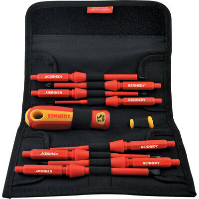 Kennedy Insulated Interchangeable Screwdriver Set 10-Pce