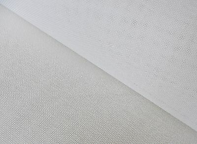 White Tapestry Canvas Etamine 22 HPI  60cm x 50cm  for dolls house petite point