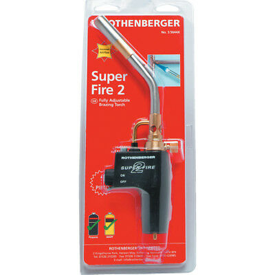 Rothenberger 3.5644X Super-Fire 2 Brazing Torch
