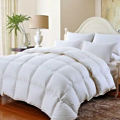 Premium Goose Feather & Down Duvet Quilt Cool & Warm Bedding ~ All Sizes & Tog ~