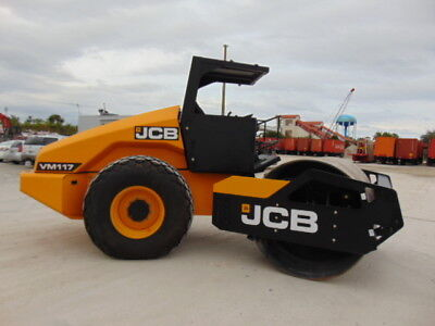 Brand New Jcb Vm-117D Vibratory Compactor Roller - 25,000 Pounds - Padfoot Avail